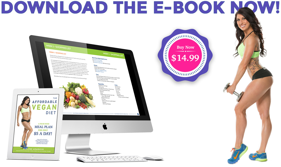 The Affordable Vegan Diet E-Book